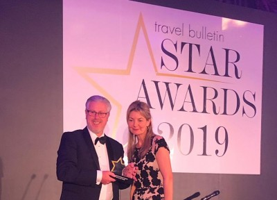 DISCOVER THE WORLD RECOGNISED BY TRAVEL TRADE WITH STAR AWARD