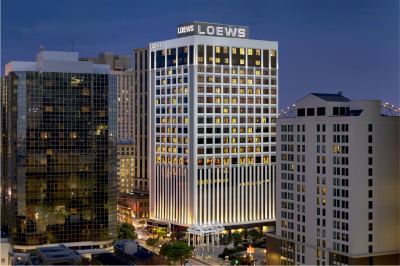 LOEWS HOTELS & CO SELECTS DISCOVER FOR INTERNATIONAL SALES